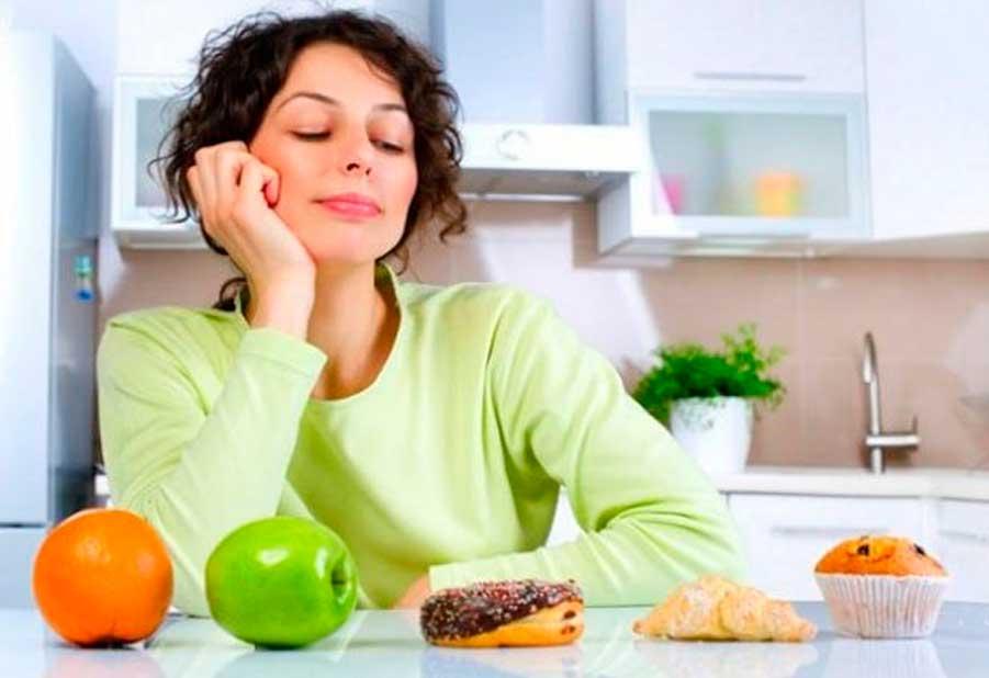 вредная еда и полезная