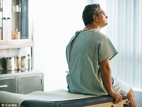 в процессе лечения аденомы предстательной железы
