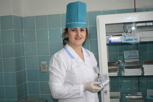 женщина лаборант