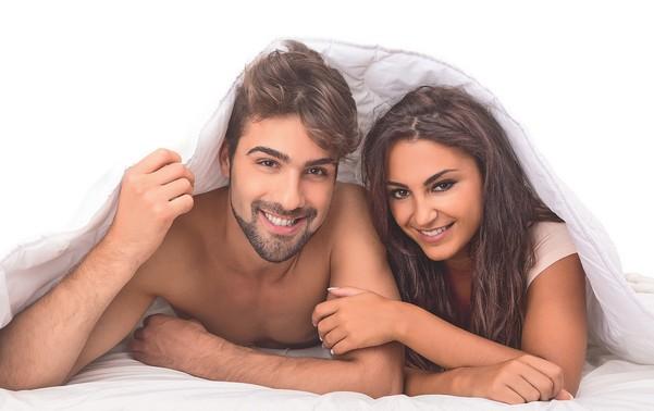 мужчина и женщина после интимной близости